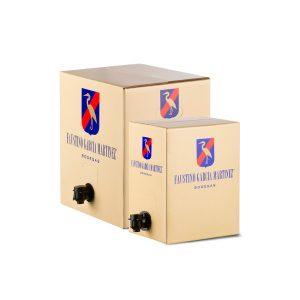 Faustino García tinto joven Bag in box, Arral97