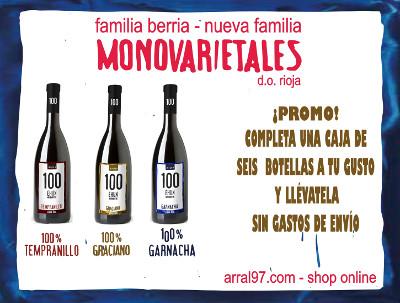 Promoción envío gratuito para Riojas 100 Ehun, Arral97